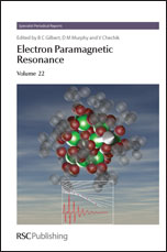 Electron Paramagnetic Resonance: Volume 22