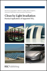 Clean by Light Irradiation: Practical Applications of Supported TiO2