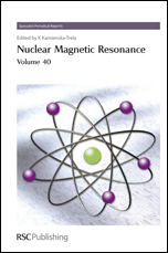 Nuclear Magnetic Resonance: Volume 40