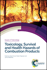 Book cover: Toxicology, Survival and Health Hazards of Combustion Products