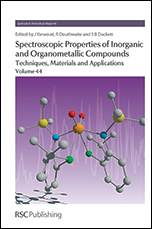 Spectroscopic Properties of Inorganic and Organometallic Compounds: Techniques, Materials and Applications, Volume 44
