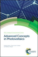 Book cover: Advanced Concepts in Photovoltaics