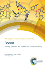 Boron: Sensing, Synthesis and Supramolecular Self-Assembly