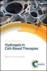 Book cover: Hydrogels in Cell-Based Therapies