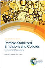 Book cover: Particle-Stabilized Emulsions and Colloids