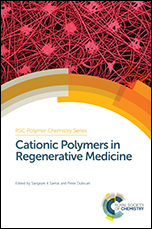 Book cover: Cationic Polymers in Regenerative Medicine