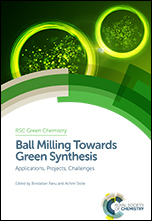 Book cover: Ball Milling Towards Green Synthesis