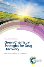 """Front cover of """"Green Chemistry for Drug Discovery"""""""