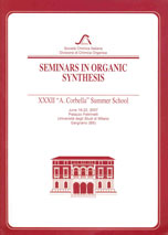 "Seminars in Organic Synthesis: XXXVII ""A. Corbella"" Summer School"