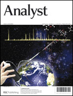 Journal Cover:Analyst, 2012, 137, 2537-2540