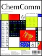 Journal cover: Chemical Communications