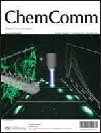 Journal Cover:Chem. Commun., 2012, 48, 9053-9055