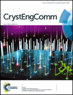 Journal cover: CrystEngComm