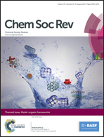 Journal cover: Chemical Society Reviews