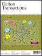 Journal cover: Dalton Transactions