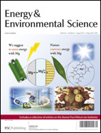 Journal cover: Energy & Environmental Science