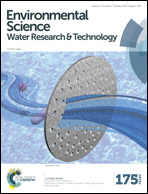 Journal cover: Environmental Science: Water Research & Technology