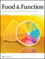 Journal Cover:Food Funct., 2011, Advance Article