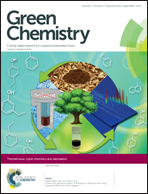 Journal cover: Green Chemistry