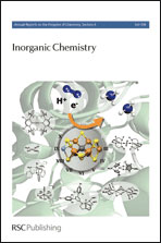"Journal cover: Annual Reports Section ""A"" (Inorganic Chemistry)"