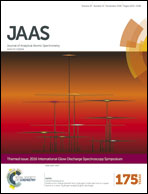 Journal cover: Journal of Analytical Atomic Spectrometry