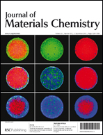 Journal cover: Journal of Materials Chemistry