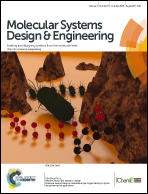 Journal cover: Molecular Systems Design & Engineering