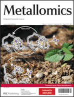 Journal cover: Metallomics