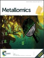 Journal cover: Metallomics