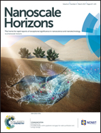 Journal cover: Nanoscale Horizons