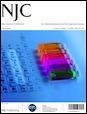 Journal cover: New Journal of Chemistry