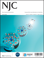 Journal cover: New Journal of Chemistry
