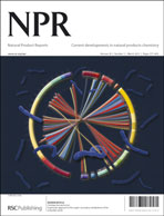Journal cover: Natural Product Reports