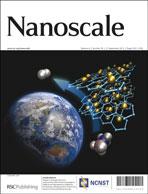 Journal cover: Nanoscale