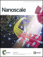 Journal cover: Nanoscale