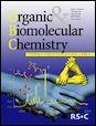 Journal cover: Organic & Biomolecular Chemistry