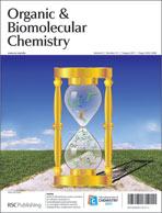 Journal Cover:Org. Biomol. Chem., 2011, 9, 5535-5540