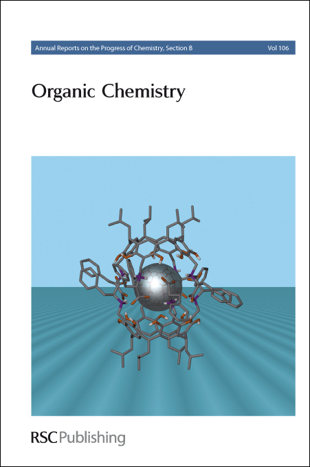 """Journal cover: Annual Reports Section """"B"""" (Organic Chemistry)"""