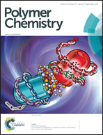 Journal cover: Polymer Chemistry