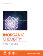 Journal cover: Inorganic Chemistry Frontiers