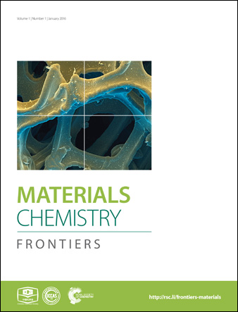 Journal cover: Materials Chemistry Frontiers