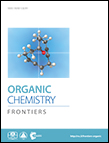Journal cover: Organic Chemistry Frontiers