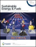 Journal cover: Sustainable Energy & Fuels