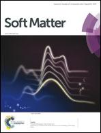 Journal cover: Soft Matter