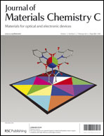 Journal cover: Journal of Materials Chemistry C